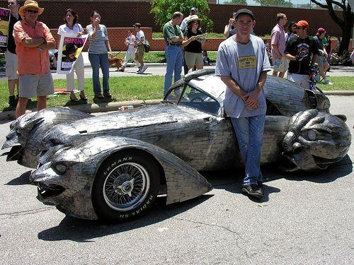 اتومبیل و موتورهای های عجیب و غریب(تصویری)