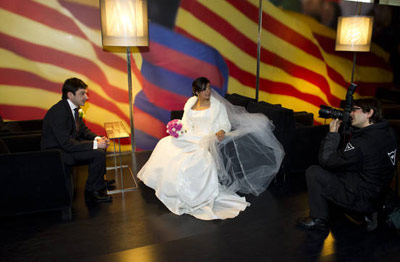 shangol.ir | آتلیه عروس، درآمدزایی جدید بارسا + تصاویر