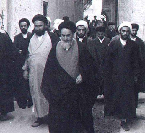 Image result for امام خمینی در نجف