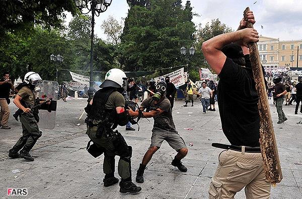 عکس جالب پولیس