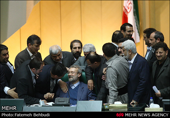بعد از جلسه تاریخی مجلس