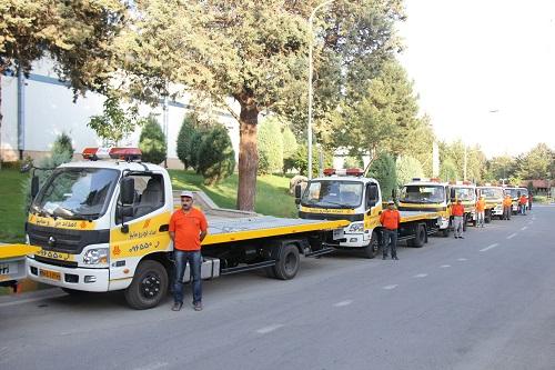 پاسخگویی امداد خودرو سایپا از ابتدای طرح خدمات و امداد 1393 به تماس ...