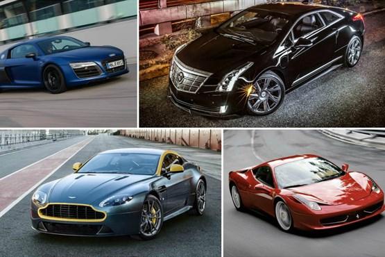 10 خودروی زیبای دنیای امروز + عکس