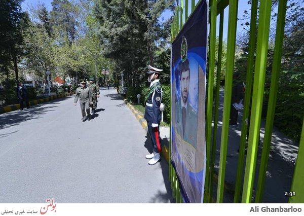 خروج ناگهانی فرمانده کل ارتش از خط تشریفات+عکس
