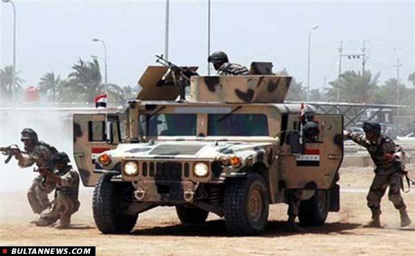 کشتار 40 نظامی ارتش عراق توسط نیروهای ائتلاف