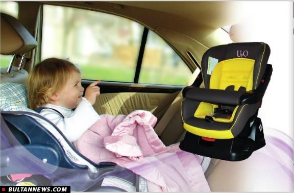 امنیت کودک در خودرو با صندلی ماشین دلیجان