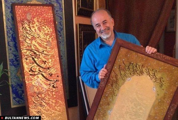 اسرافیل شیرچی: خوشنویسی مازندران رو به پیشرفت است