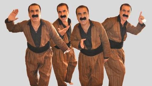 یک خواننده کرد ایرانی مبلغ انتخاباتی احزاب کردستان عراق +عکس