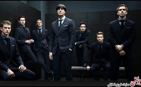 خوشتیپ ترین تیم جام جهانی 2014 +عکس