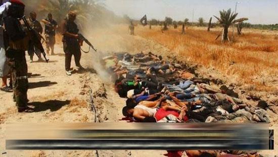 هلاکت 100 تروریست و انهدام 4 خودرو داعش / قتل عام 1700 دانشجوی دانشکده افسری عراق