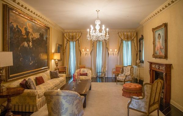 خانه 49 میلیون دلاری اشرف پهلوی در نیویورک + تصاویر