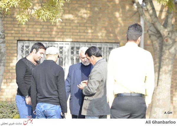 محل دفن مرتضی پاشایی در بهشت زهرا+عکس