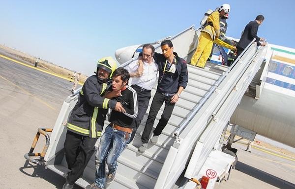 فروداضطراری موفقیت آمیز پرواز تهران-مشهد هواپیمایی «آسمان»