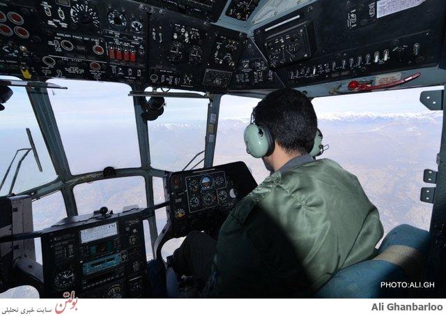 دلایل سقوط هواپیمای c130 خبرنگاران+عکس