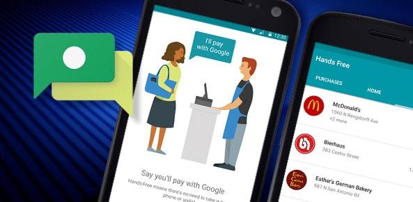 پرداخت بدون نیاز به لمس تلفن همراه،گوگل در حال طراحی این سرویس