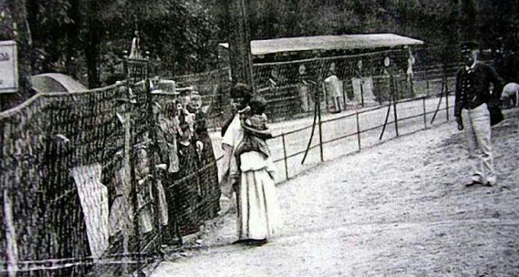 باغ وحش انسانی (فرانسه، حدود سال 1900)