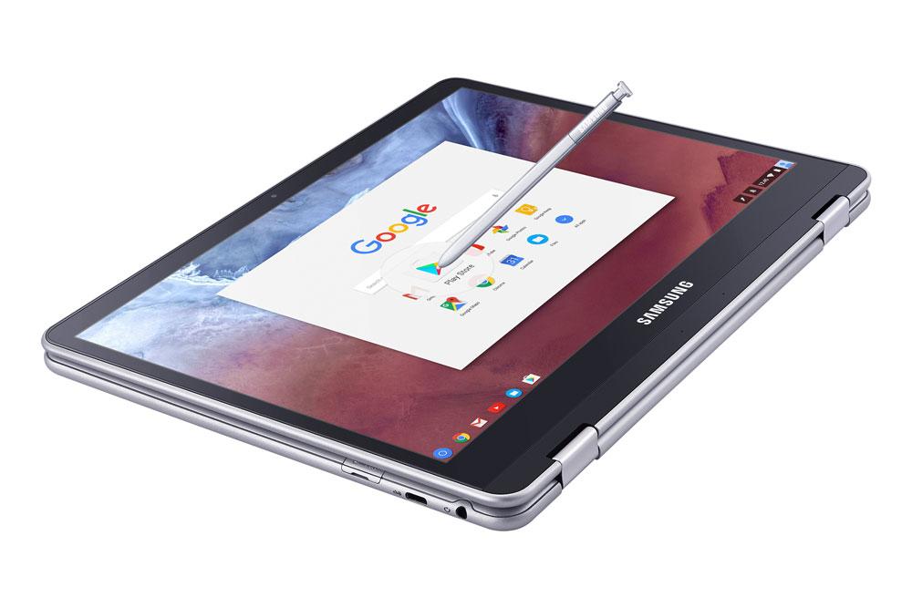 قلمزنی سامسونگ با گوگل، کرومبوک پلاس و کرومبوک پرو رونمایی شدند
