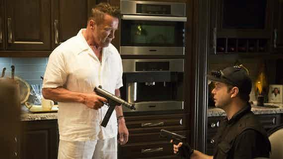 هنرنمایی Arnold Schwarzenegger در سینمایی Why We're Killing Gunther در نقش Hitman