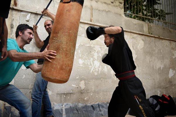 نگار عابدی برای «ننگرهار» لهجه افغانستانی یاد گرفت + تصاویر