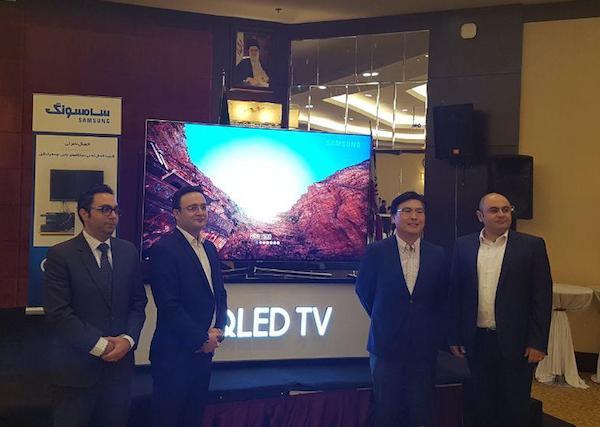 تلویزیون های qled سامسونگ رسما در ایران معرفی شدند