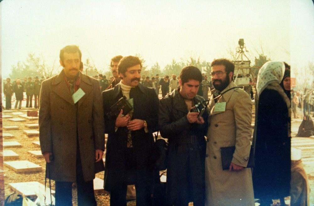 شهید تندگویان در دوازدهم فروردین پنجاه و هفت روز ورود امام خمینی در بهشت زهرا