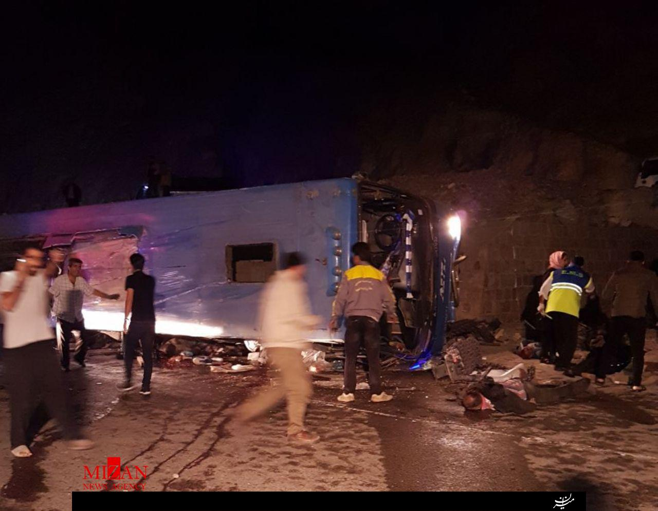 علت قطعی واژگونی مرگبار اتوبوس ولوو در سوادکوه مشخص شد/ 3 نفر مقصر اصلی حادثه