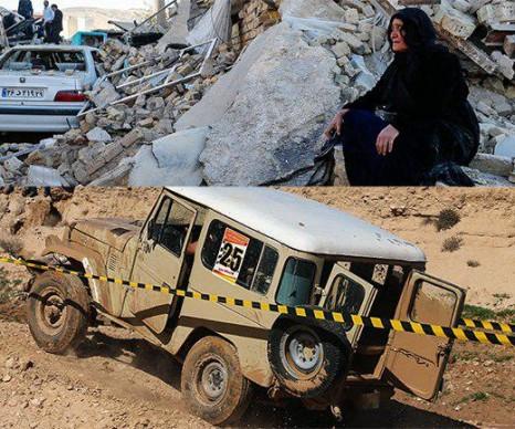همراه با 54 خودرو آفرود؛ آفرود سواران به کمک هموطنان زلزلهزده میشتابند