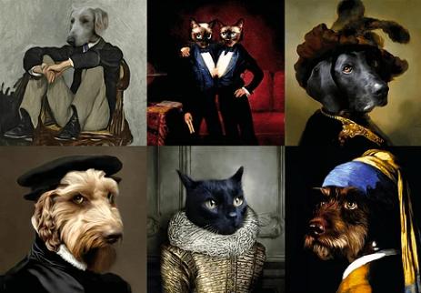 با پرتره لوکس حیوان خانگیتان همه را شگفتزده کنید