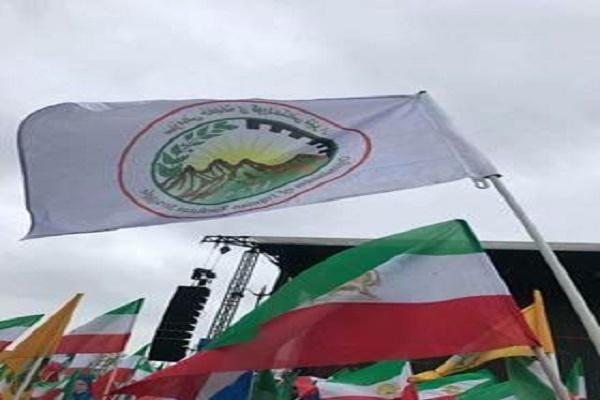 خبات کردستان در گردهمایی منافقین شرکت کرد