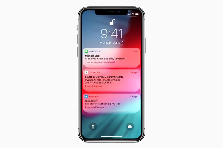 نسخه بتای iOS 12 برای توسعه دهندگان اپلیکیشن آیفون منتشر شد