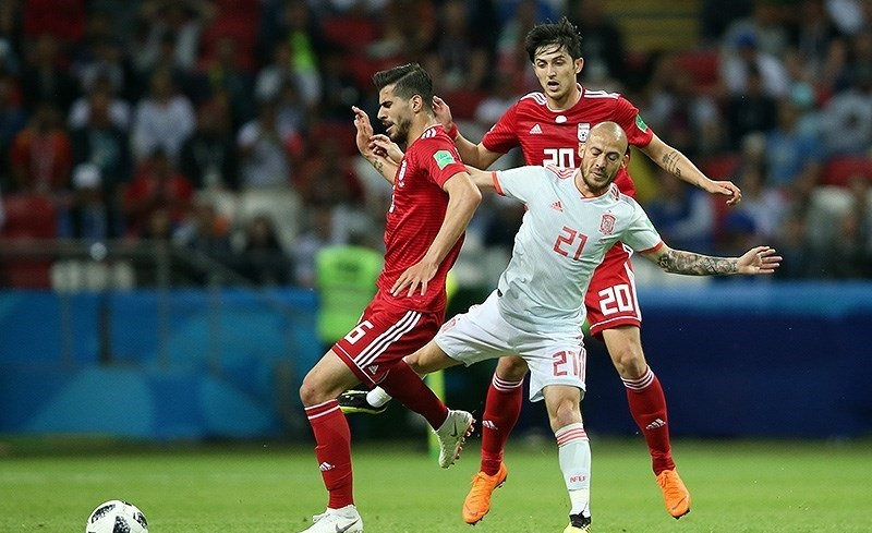 جام جهانی 2018/ شکست نزدیک تیم ملی مقابل اسپانیا زجر ماتادورها در شبی که ویدیو چک علیه ایران بود