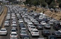ترافیک نیمه سنگین در تهران-کرج/ گردوخاک در استان لرستان