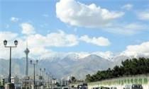 هوای پایتخت در شرایط «سالم»/آسمان تهران نیمه ابری است