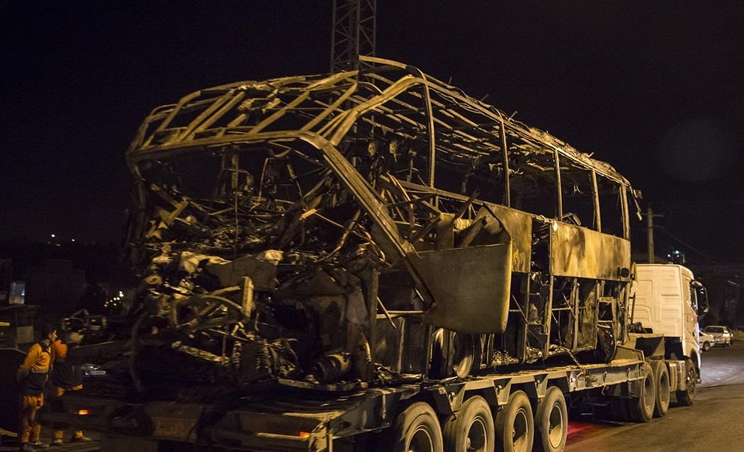در همه امورهیچکی که هیچکی پمپ ماشین آتشنشانی در صحنه آتشسوزی تانکر سوخت سنندج عمل نکرد