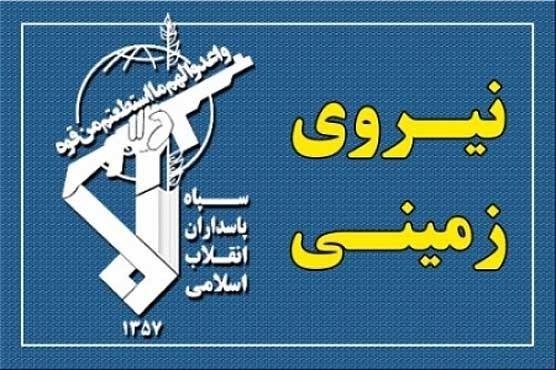 حمله تروریستهای ضد انقلاب به پاسگاه مرزی نیروی زمینی سپاه