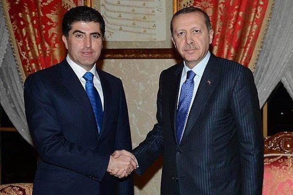 روزهای طلایی اردوغان و نیچروان بارزانی