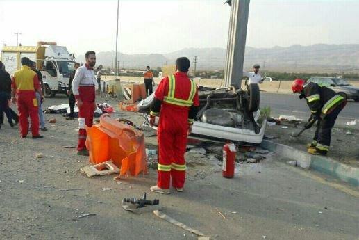 حادثه خونین رانندگی در البرز