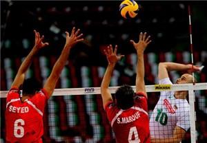 شکست والیبال ایران از بلغارستان