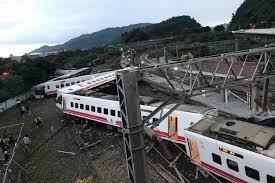 118 کشته و زخمی در حادثه ریلی تایوان