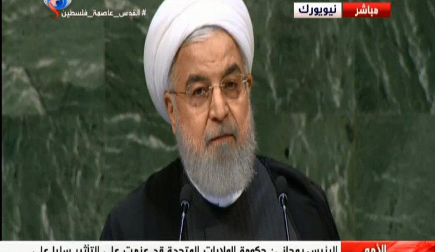 روحانی آمریکا را به تصمیم برای براندازی در ایران متهم کرد