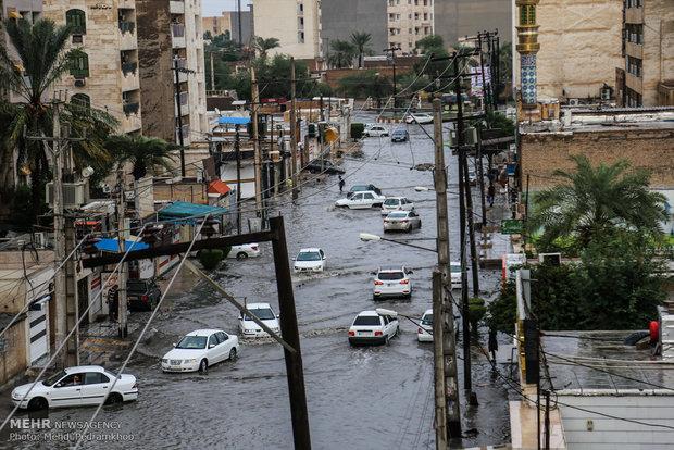 عکس از نمای شهر اهواز