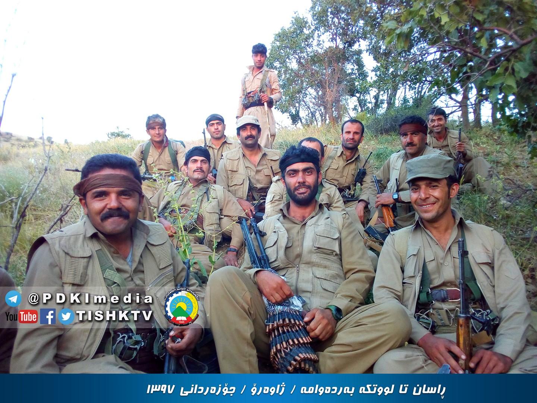 گروهک تروریستی دمکرات وارد منطقه ژاوه رود سنندج شدند+ تصاویر