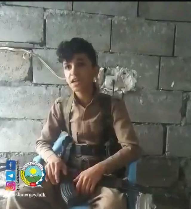 مسلح کردن نوجوانان زیر سن قانونی در گروهک تروریستی دمکرات