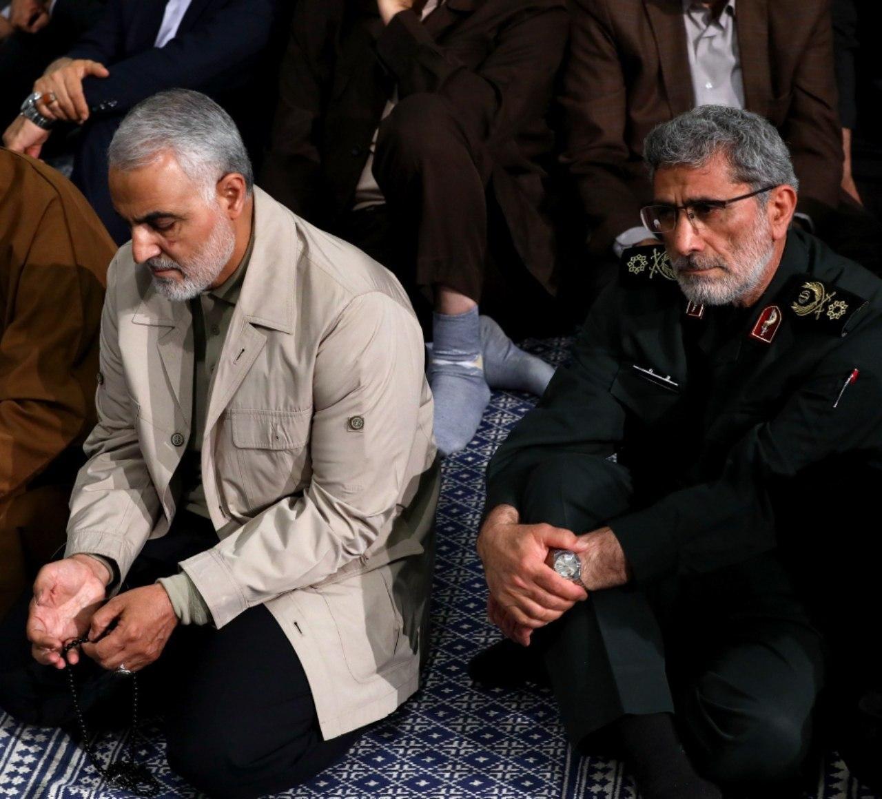 جانشین شهید حاج قاسم مغز متفکر نیروی قدس سپاه است