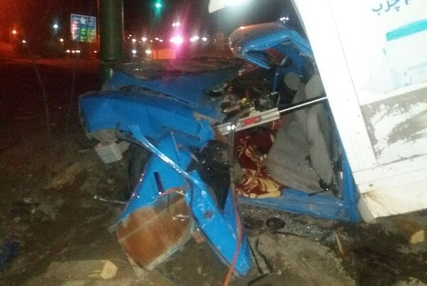 تصادف مرگبار در تبریز/ راننده جوان در دم جان سپرد