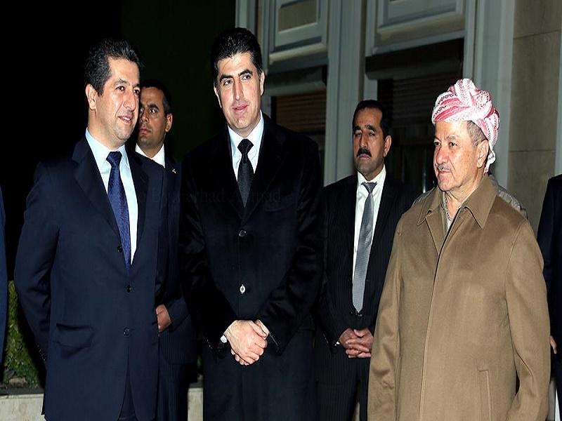 نیچروان بارزانی رسما کاندید پست ریاست اقلیم کردستان شد