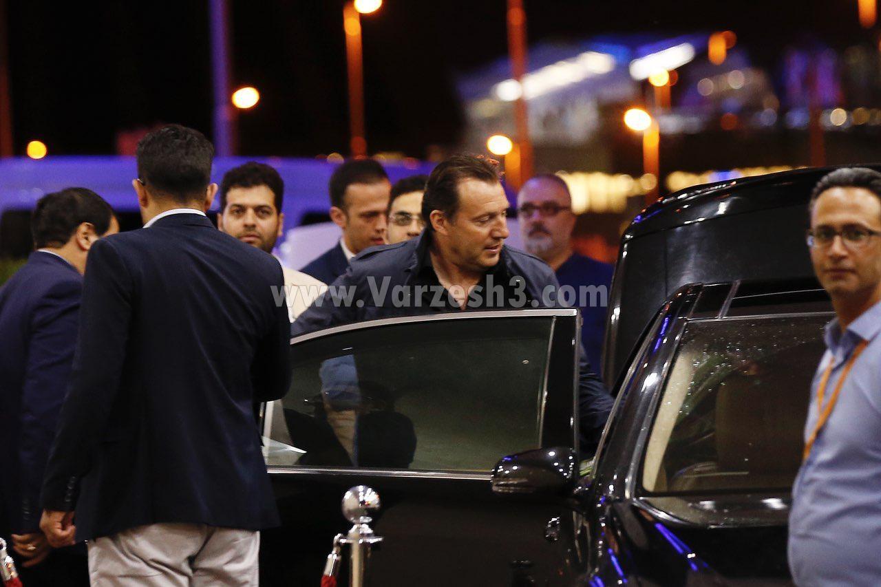 ویلموتس بامداد امروز وارد تهران شد