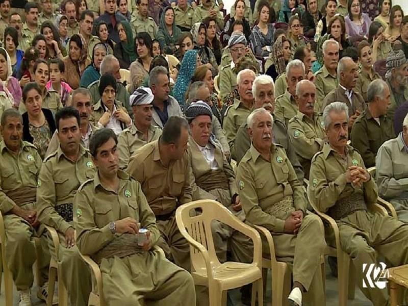 نشست نمایندگان حکومت اقلیم کردستان با حزب منحله دمکرات