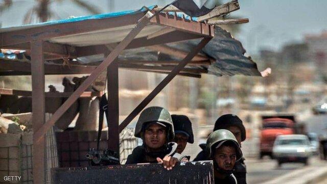 حمله تروریستی به ایست بازرسی در مصر