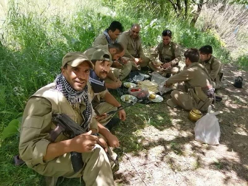 انتشار عکس نیروهای دربند سازمان خبات کردستان از سوی گروهک تروریستی دمکرات